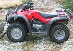Квадроцикл Honda 350 4x4 Fourtrax 350 - код 23924